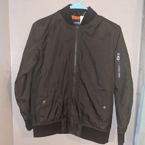 Other - Dark green Windbreaker jacket